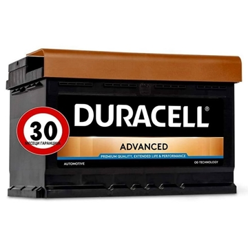 Слика на DURACELL ADVANCED 74Ah
