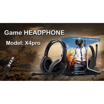 Слика на GAMING HEADSET X4 PRO PUBG LIMITED EDITION HEADPHONES FOR GAMERS