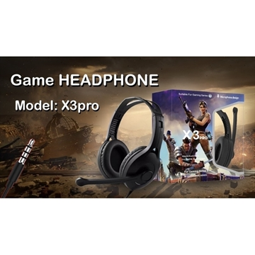Слика на GAMING HEADSET X3 PRO FORTNITE LIMITED EDITION HEADPHONES FOR GAMERS