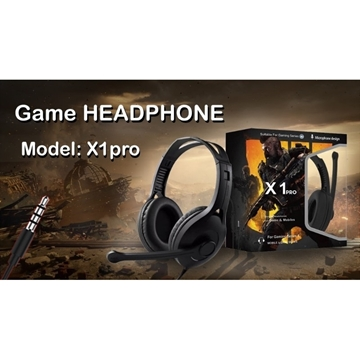Слика на GAMING HEADSET X1 PRO CALL OF DUTY BLACK OPS LIMITED EDITION HEADPHONES FOR GAMERS
