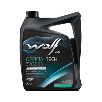Слика на МОТОРНО МАСЛО WOLF OFFICIALTECH 5W-30 C3 5L